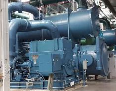 Steam and chilled water production facilities