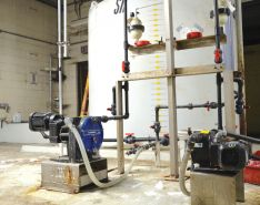 Meter Biocides for Cleaner Cooling Tower Systems