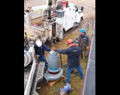 Replacement Submersible Pumps Increase Lift Station Efficiency