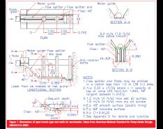 Design of Trench-Type Wet Wells for Pumping Stations