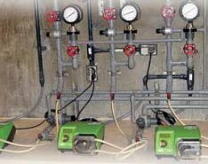 Peristaltic Pumps in Chemical Applications