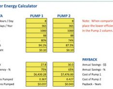 Calculating Energy Savings and Payback